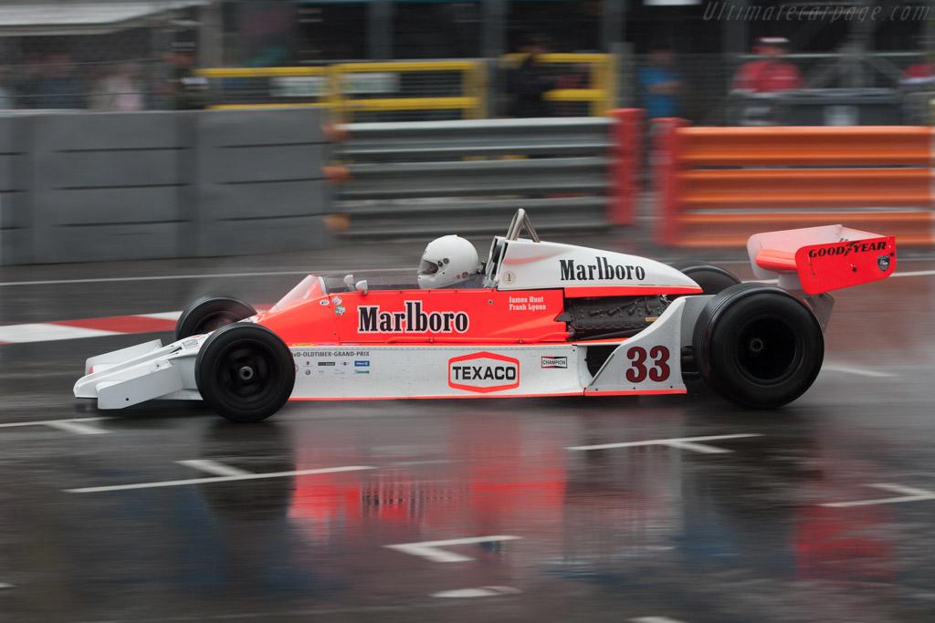 McLaren M26 Cosworth - Chassis: M26-1   - 2012 Monaco Historic Grand Prix
