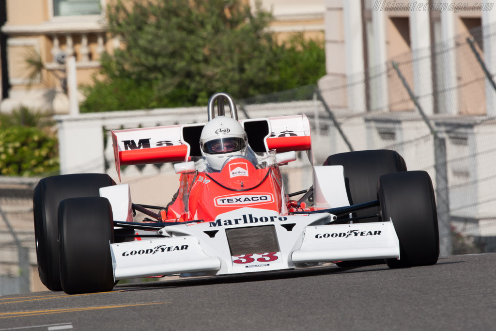 McLaren M26 Cosworth - Chassis: M26-1   - 2012 Monaco Historic Grand Prix