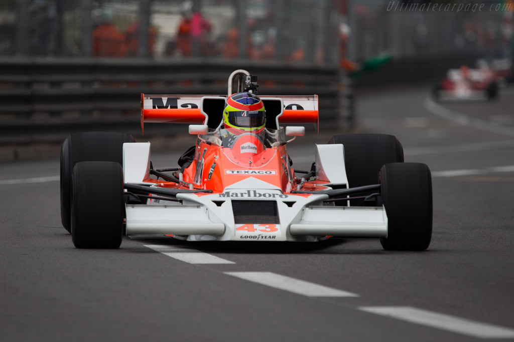McLaren M26 Cosworth - Chassis: M26-3   - 2014 Monaco Historic Grand Prix