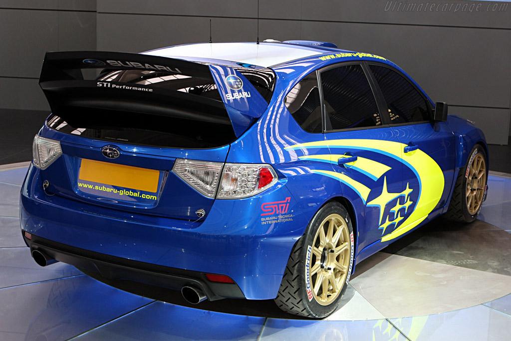 Subaru Impreza WRC Concept    - 2007 Frankfurt Motorshow (IAA)