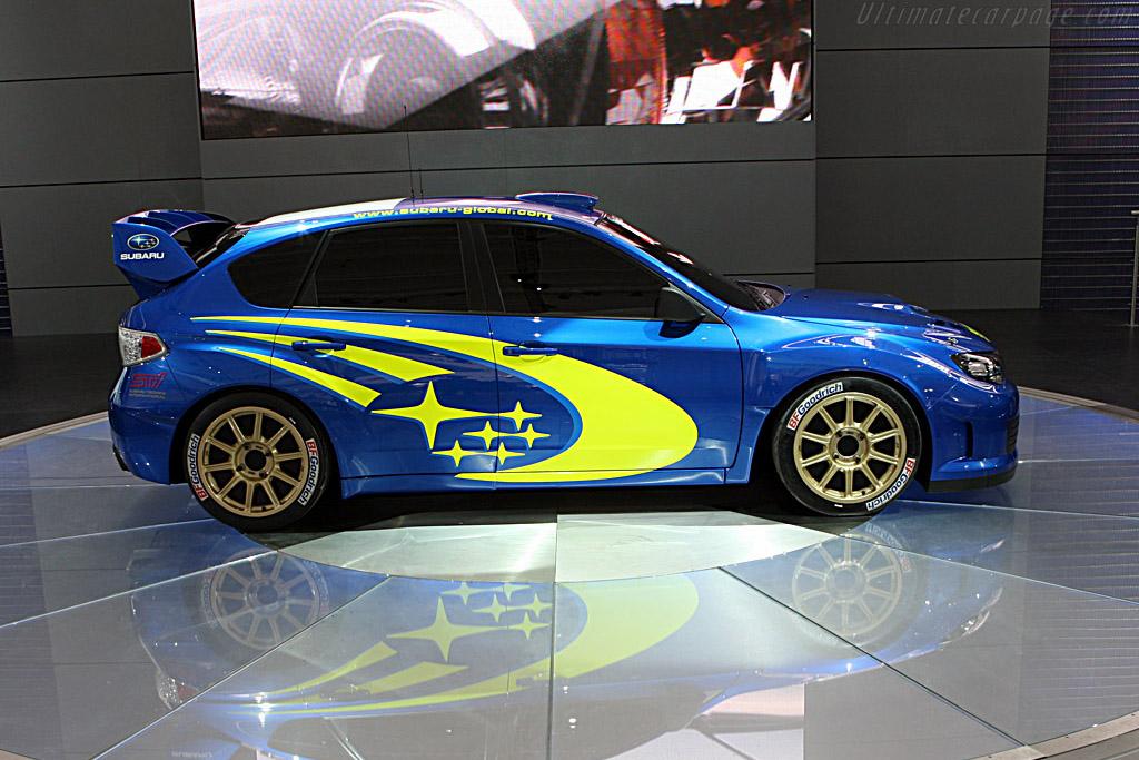 Subaru Impreza Wrc Concept 2007 Frankfurt Motorshow Iaa