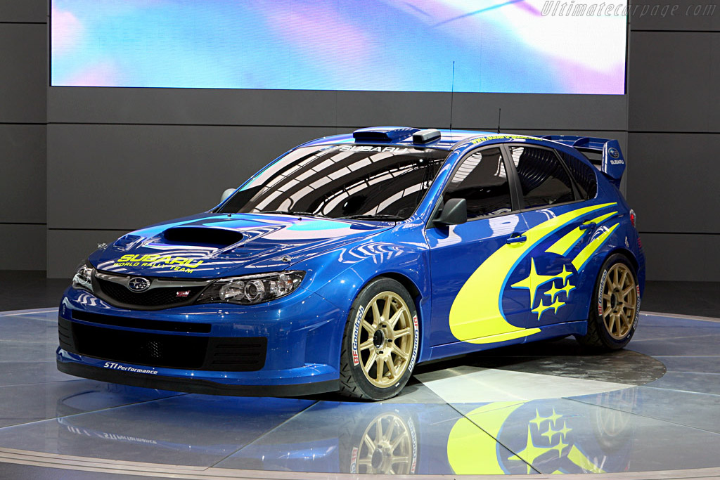 2007 Subaru Impreza Wrc Concept Images Specifications