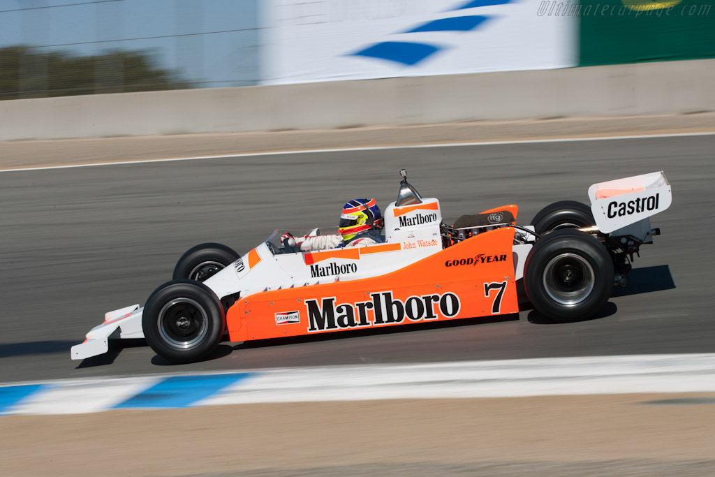 McLaren M28 Cosworth - Chassis: M28-2   - 2010 Monterey Motorsports Reunion