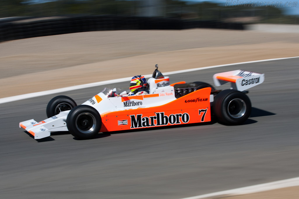 McLaren M28 Cosworth - Chassis: M28-2   - 2010 Monterey Motorsports Reunion