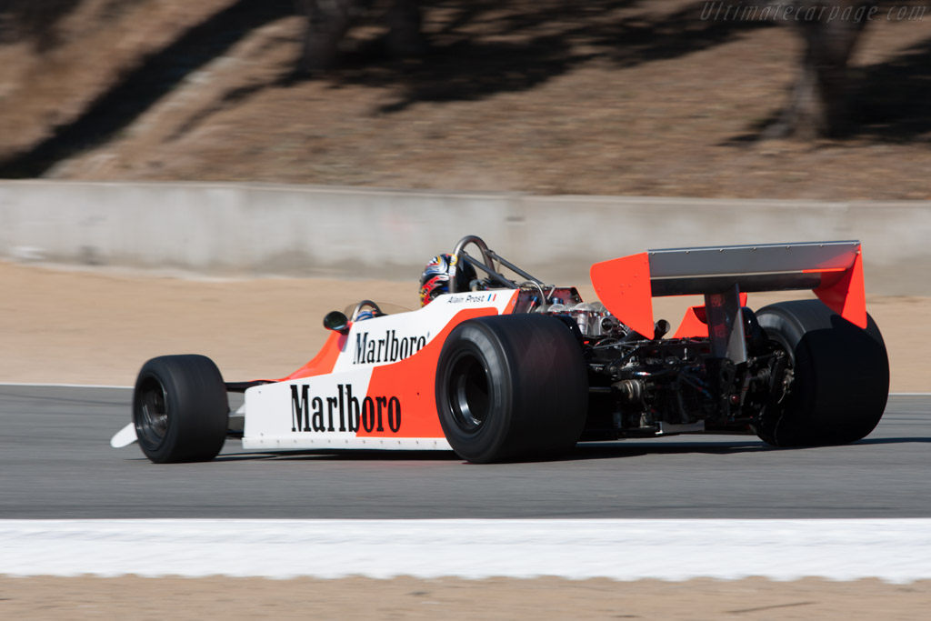 McLaren M29 Cosworth - Chassis: M29-4  - 2010 Monterey Motorsports Reunion