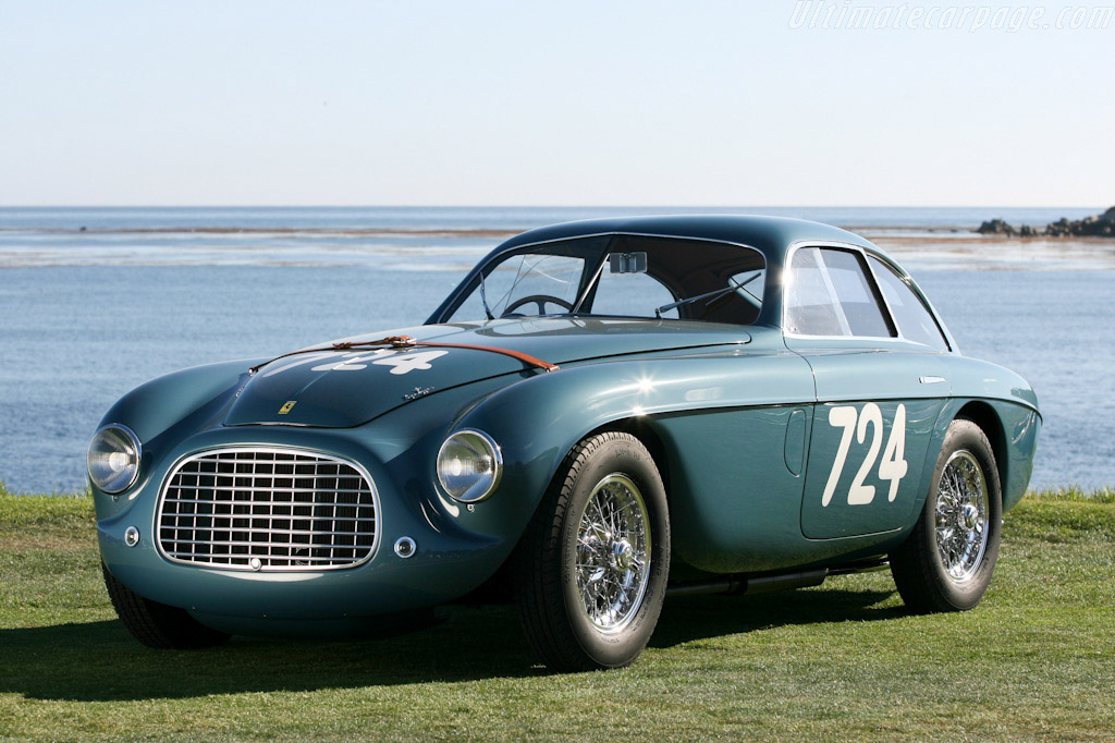 Click here to open the Ferrari 166 MM Touring Le Mans Berlinetta gallery