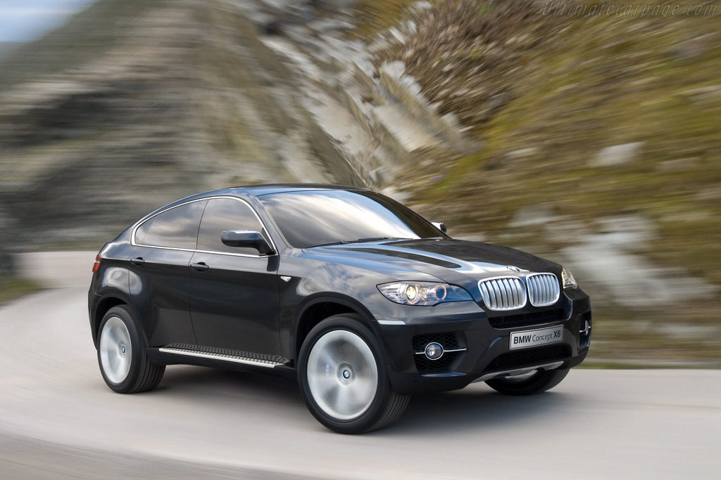 Click here to open the BMW X6 Concept gallery
