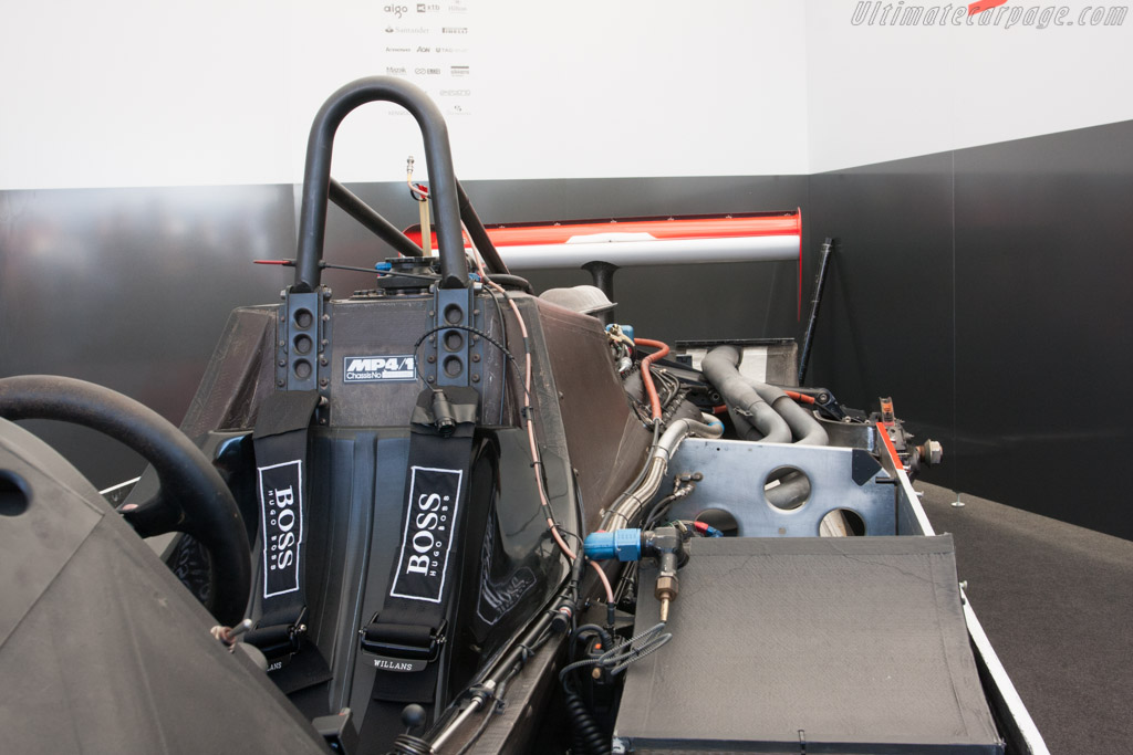 McLaren MP4/1 Cosworth - Chassis: MP4/1-1   - 2011 Goodwood Festival of Speed