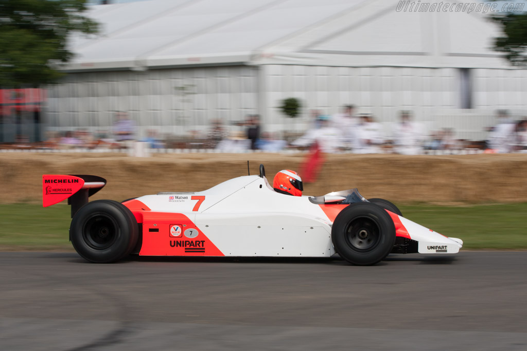 McLaren MP4/1 Cosworth - Chassis: MP4/1-1 - Driver: Chris Goodwin  - 2011 Goodwood Festival of Speed