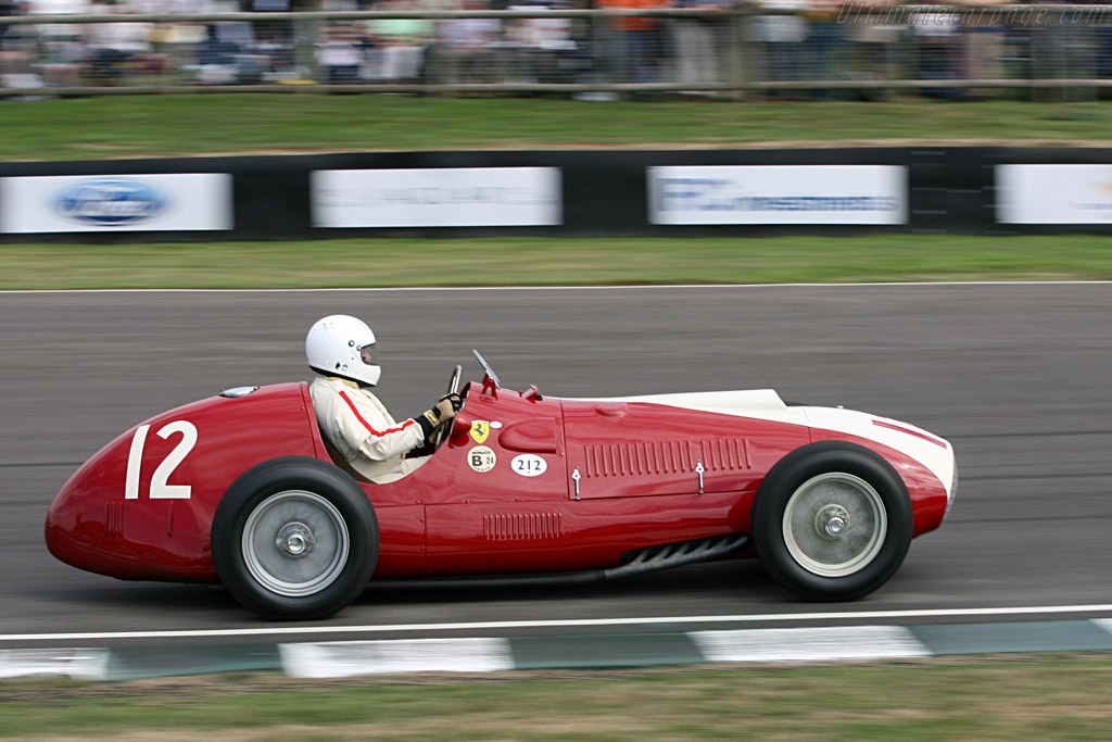Ferrari 212 F1 Chassis 102 2006 Goodwood Revival