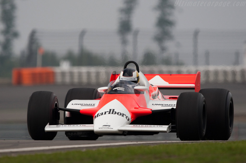 McLaren MP4/1B Cosworth - Chassis: MP4/1B - 6   - 2009 Modena Trackdays