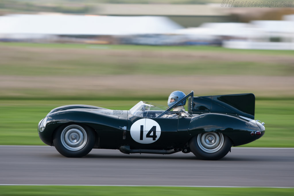 Jaguar D Type Works Chassis Xkd 406 2010 Goodwood Revival