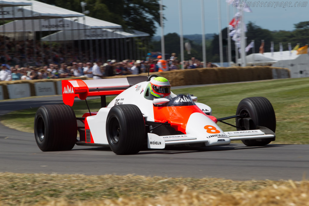 McLaren MP4/2 TAG-Porsche - Chassis: MP4/2-1   - 2014 Goodwood Festival of Speed