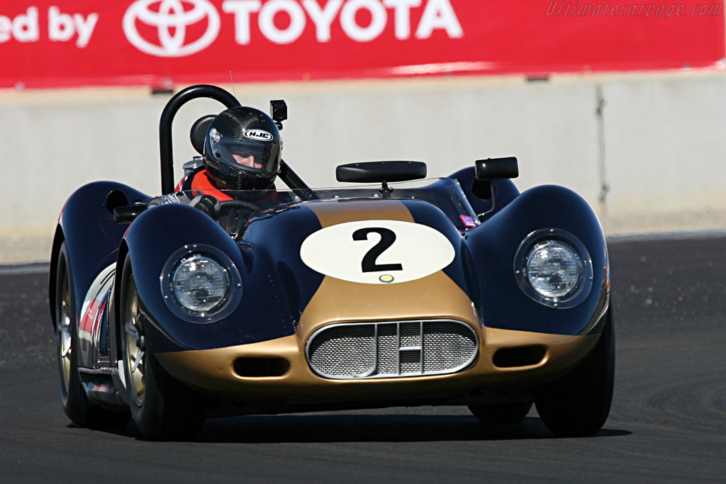 Lister Knobbly Chevrolet - Chassis: BHL 108   - 2007 Monterey Historic Automobile Races