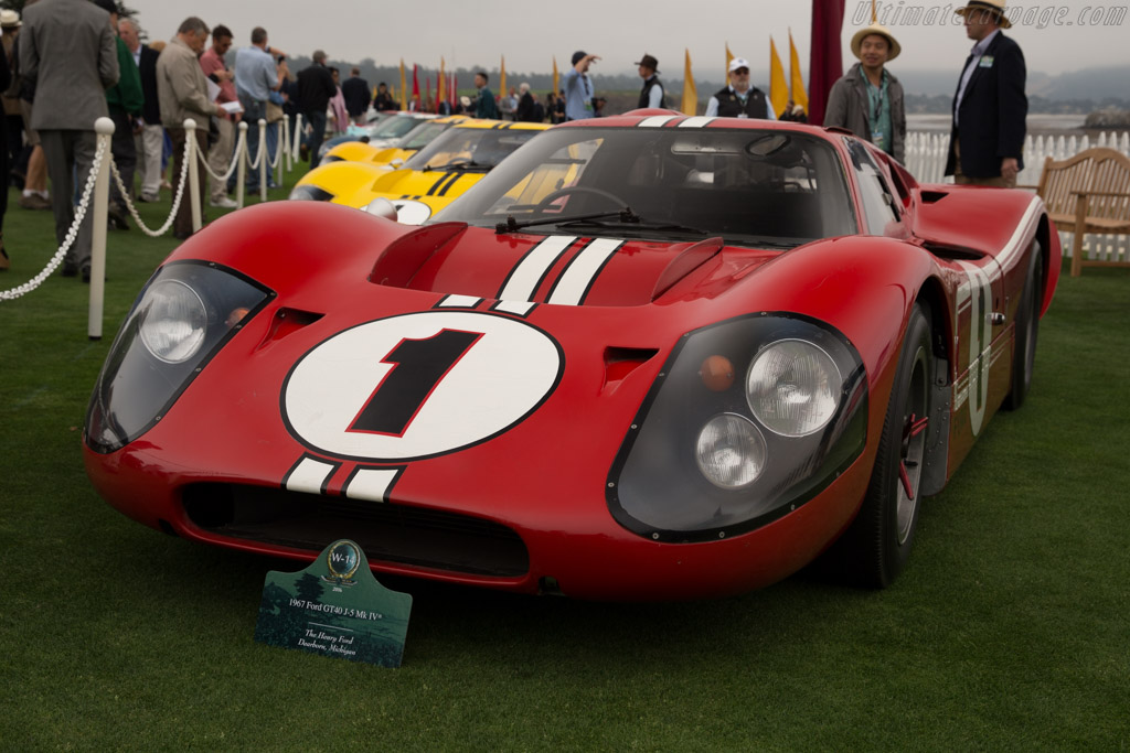 Ford Mk IV - Chassis: J-5   - 2016 Pebble Beach Concours d'Elegance