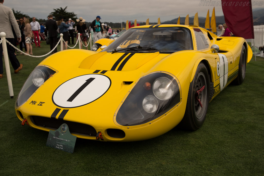 Ford Mk IV - Chassis: J-4   - 2016 Pebble Beach Concours d'Elegance