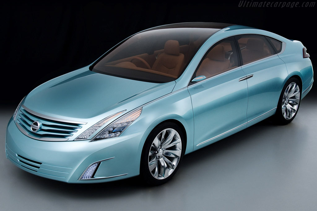 Click here to open the Nissan Intima Concept gallery