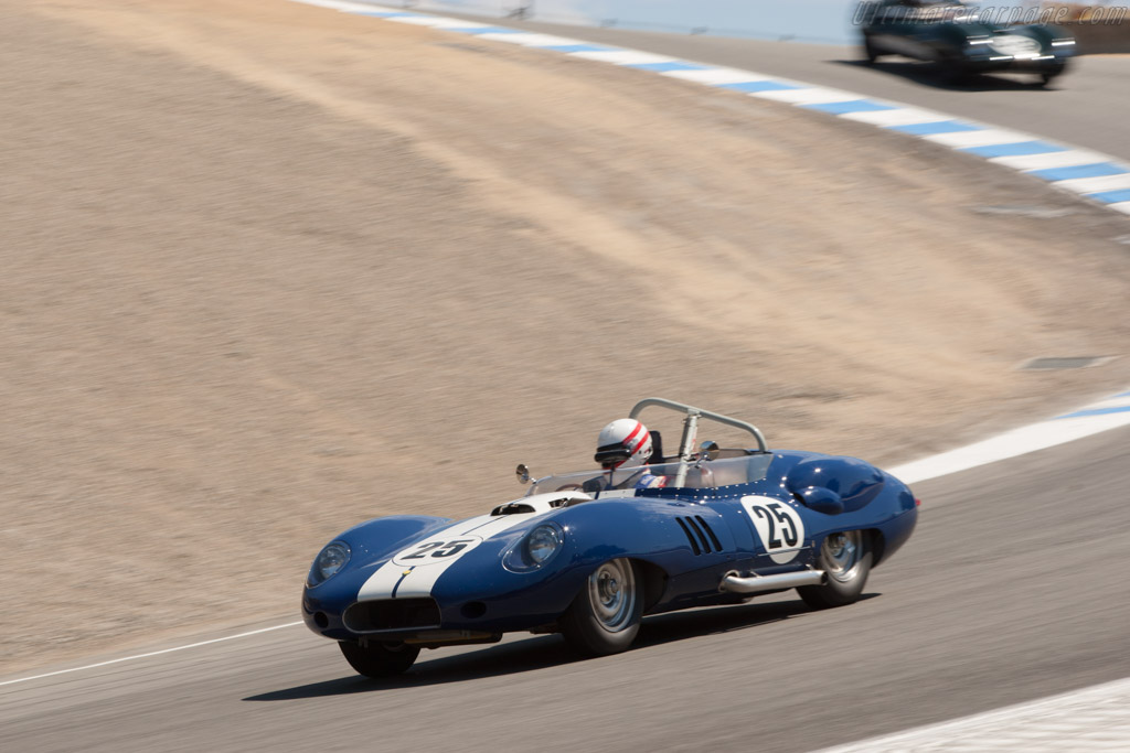 Lister Costin Chevrolet - Chassis: BHL 132   - 2012 Monterey Motorsports Reunion
