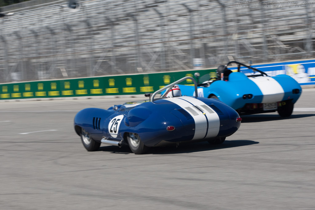 Lister Costin Chevrolet - Chassis: BHL 132   - 2013 Monterey Motorsports Reunion