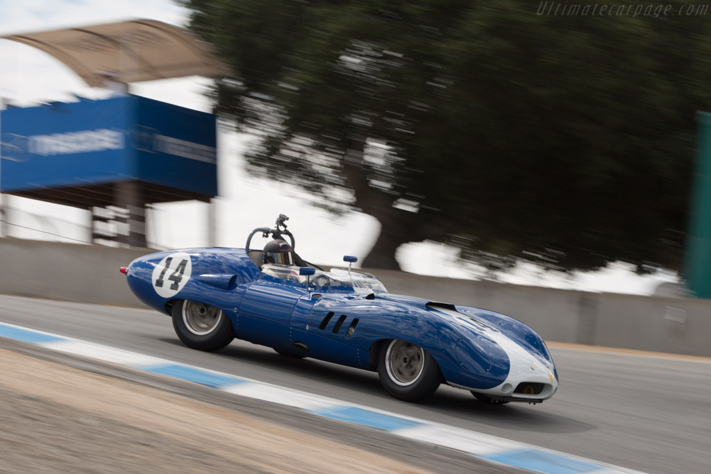 Lister Costin Chevrolet - Chassis: BHL 124   - 2013 Monterey Motorsports Reunion
