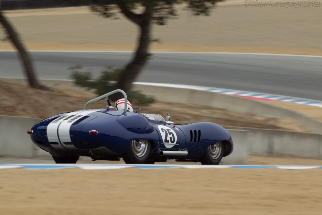 Lister Costin Chevrolet - Chassis: BHL 132   - 2014 Monterey Motorsports Reunion