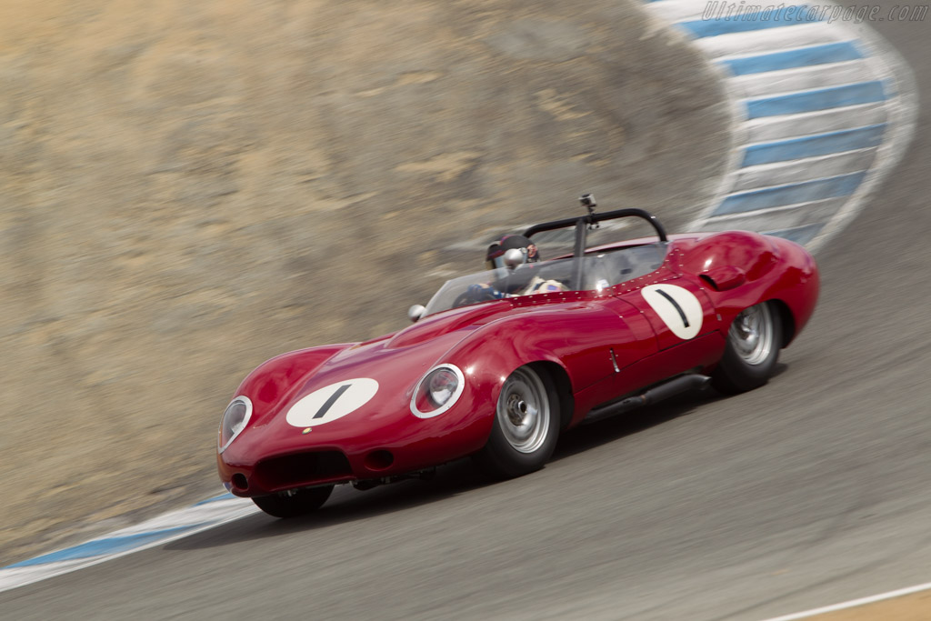 Lister Costin Chevrolet - Chassis: BHL 121   - 2014 Monterey Motorsports Reunion