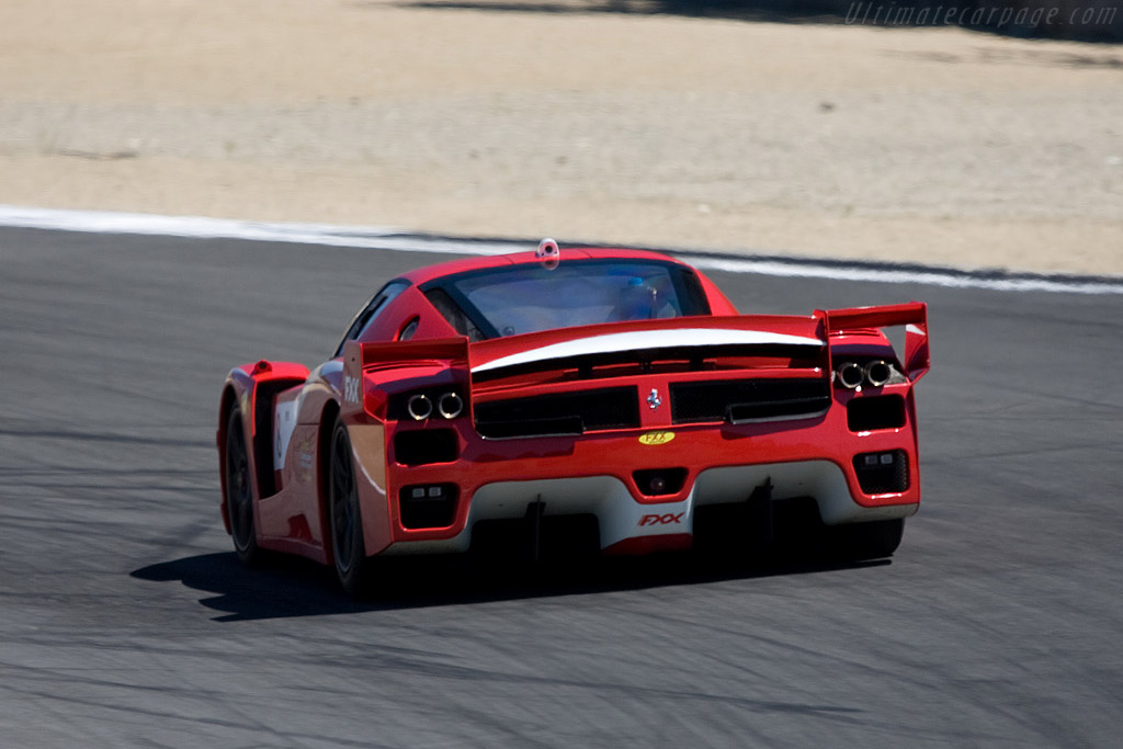 Ferrari FXX Evoluzione    - 2008 Monterey Historic Automobile Races