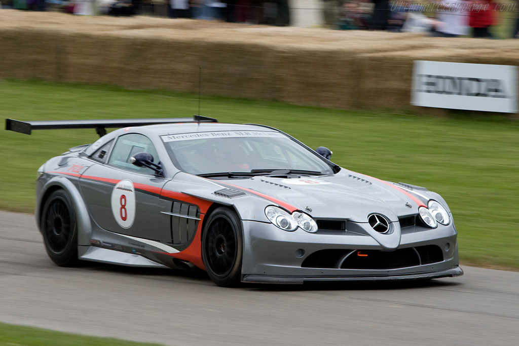 Mercedes-Benz SLR McLaren '722' GT    - 2008 Goodwood Festival of Speed
