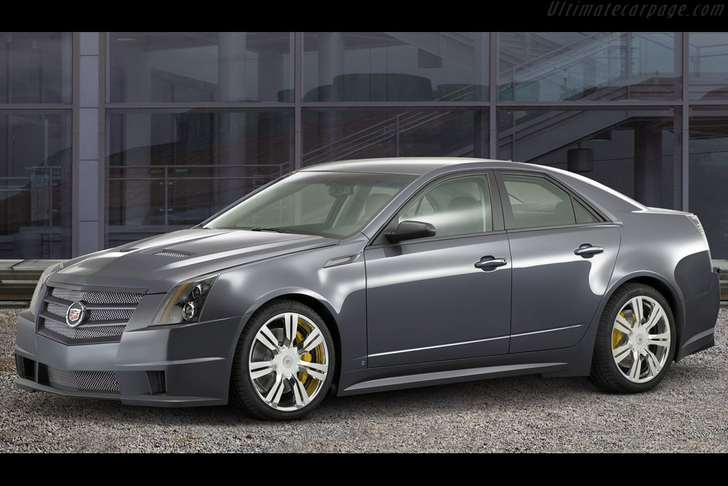 Click here to open the Cadillac CTS Sport gallery