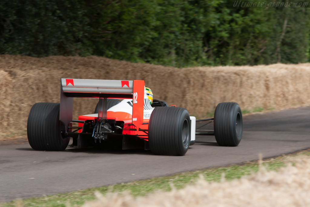 McLaren MP4/4 Honda - Chassis: MP4/4-6   - 2009 Goodwood Festival of Speed