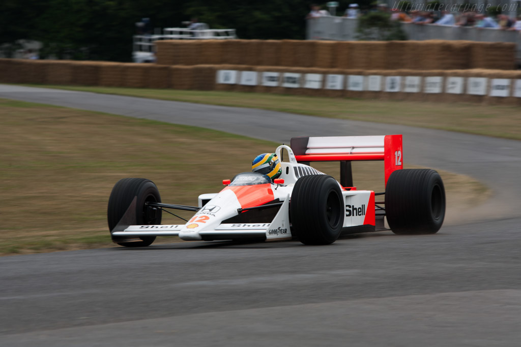 McLaren MP4/4 Honda - Chassis: MP4/4-6   - 2009 Goodwood Festival of Speed