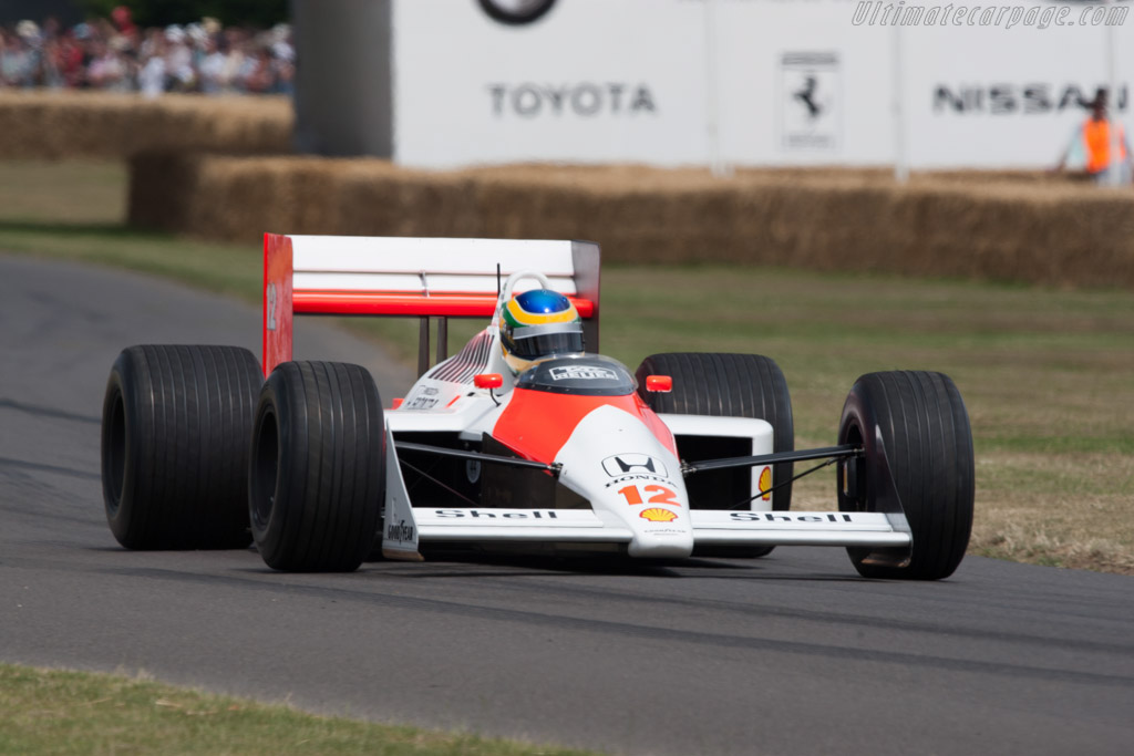 Mclaren Mp4 4 Honda Chassis Mp4 4 6 2009 Goodwood Festival Of Speed