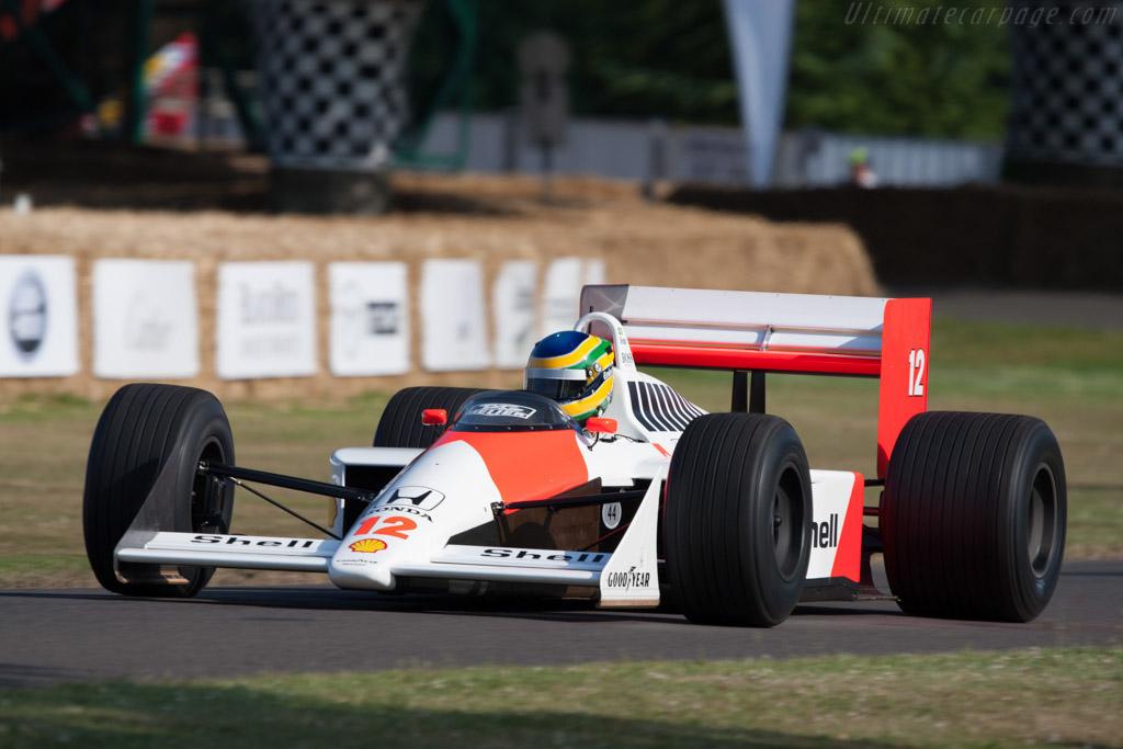 Mclaren Mp4 4 Honda Chassis Mp4 4 6 2009 Goodwood Festival Of Speed