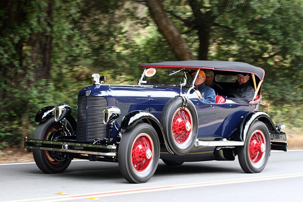 1929 1931 Dupont Model G Four Passenger Le Mans