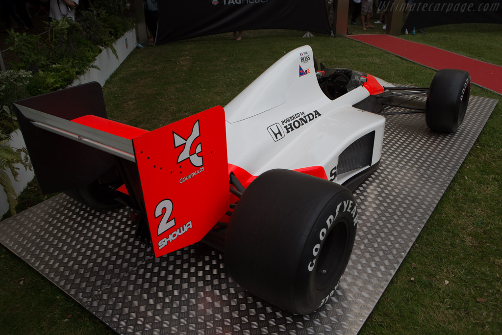 McLaren MP4/5 Honda - Chassis: MP4/5-5   - 2014 Goodwood Festival of Speed