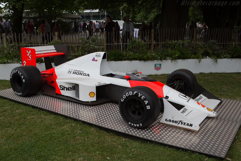McLaren MP4/5 Honda - Chassis: MP4/5-5   - 2014 Goodwood Festival of Speed