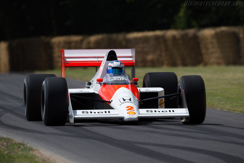 1989 Mclaren Mp4 5 Honda Images Specifications And