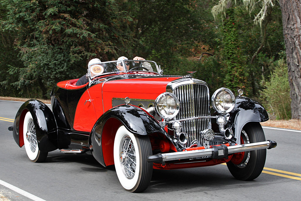 Click here to open the Duesenberg J Figoni Speedster gallery