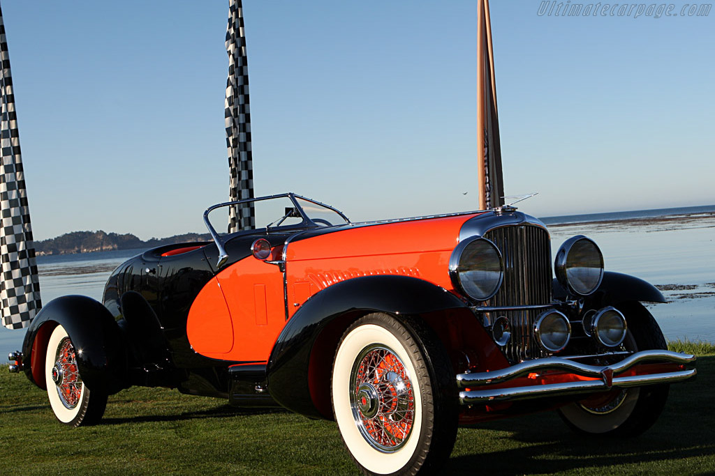 Click here to open the Duesenberg J Weymann 'Tapertail' Speedster gallery