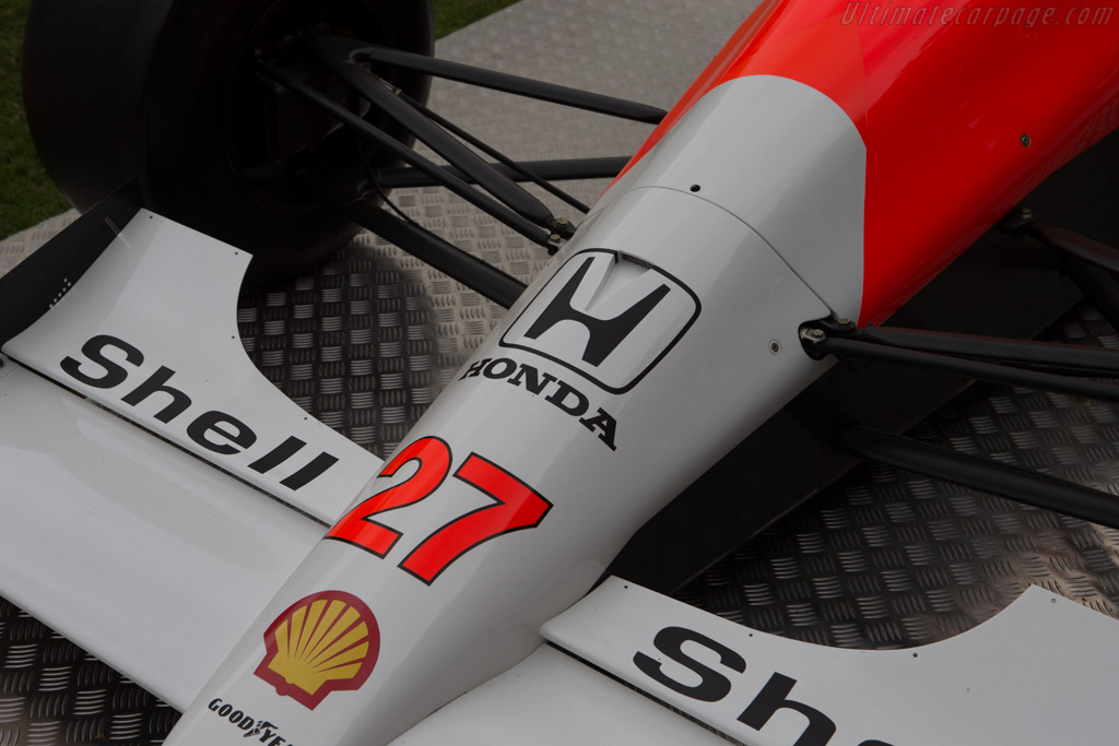 McLaren MP4/5B Honda - Chassis: MP4/5B-7   - 2014 Goodwood Festival of Speed