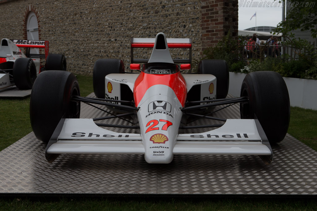 McLaren MP4/5B Honda - Chassis: MP4/5B-7   - 2014 Goodwood Festival of Speed