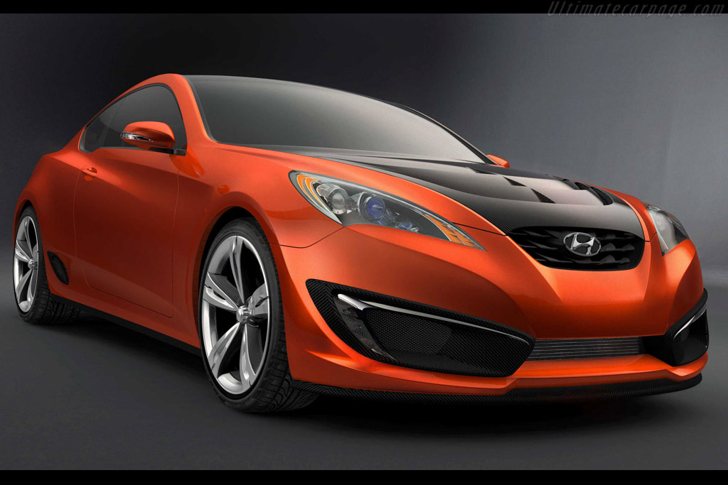 Click here to open the Hyundai Genesis Coupe Concept gallery