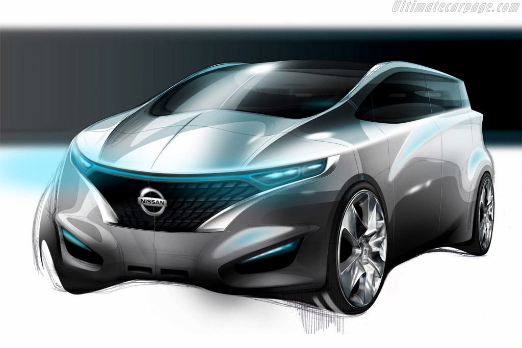 Click here to open the Nissan Forum Concept gallery