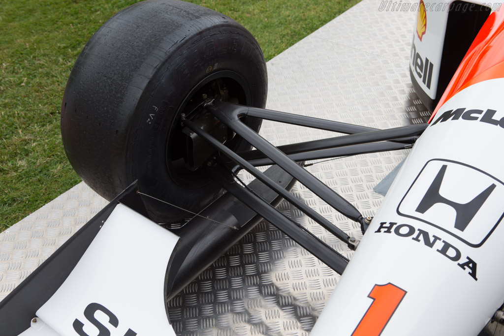 McLaren MP4/6 Honda - Chassis: MP4/6-10   - 2014 Goodwood Festival of Speed