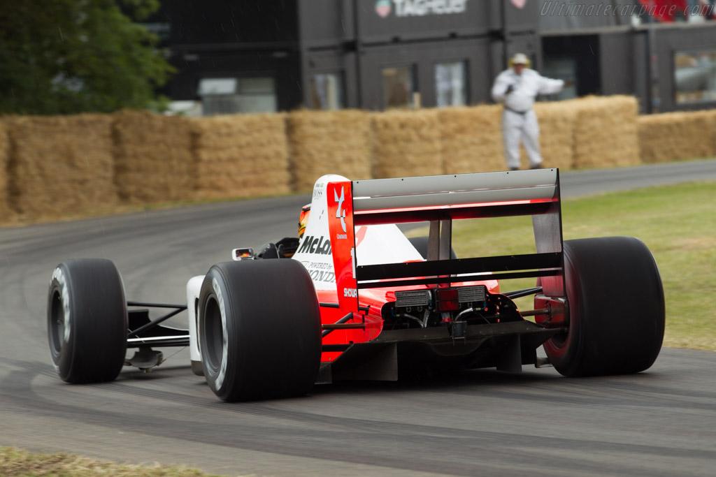 McLaren MP4/6 Honda - Chassis: MP4/6-10 - Driver: Stoffel van Doorne  - 2015 Goodwood Festival of Speed