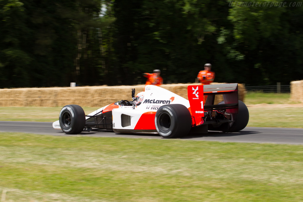 McLaren MP4/6 Honda - Chassis: MP4/6-10 - Driver: Jenson Button  - 2015 Goodwood Festival of Speed