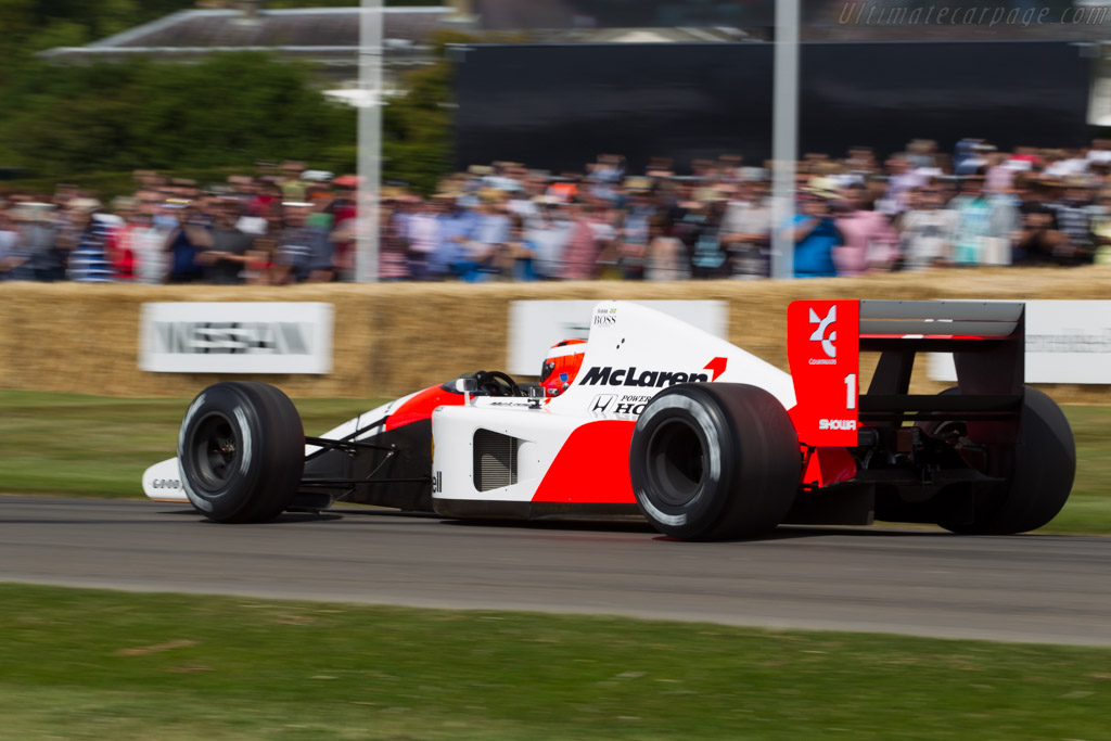 McLaren MP4/6 Honda - Chassis: MP4/6-10 - Driver: Chris Goodwin  - 2015 Goodwood Festival of Speed
