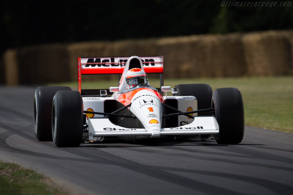 1991 Mclaren Mp4 6 Honda Images Specifications And