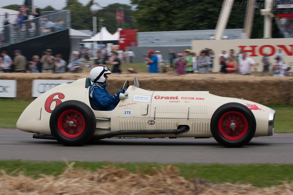 Ferrari 375 Indy - Chassis: 02   - 2011 Goodwood Festival of Speed