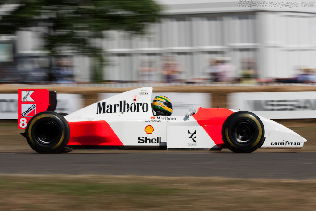 McLaren MP4/8 Ford - Chassis: MP4-8A-6   - 2010 Goodwood Festival of Speed